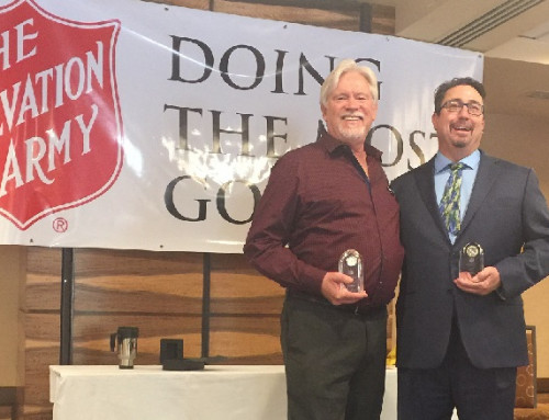 Frazee and Grimes Receive 2017 Salvation Army Award